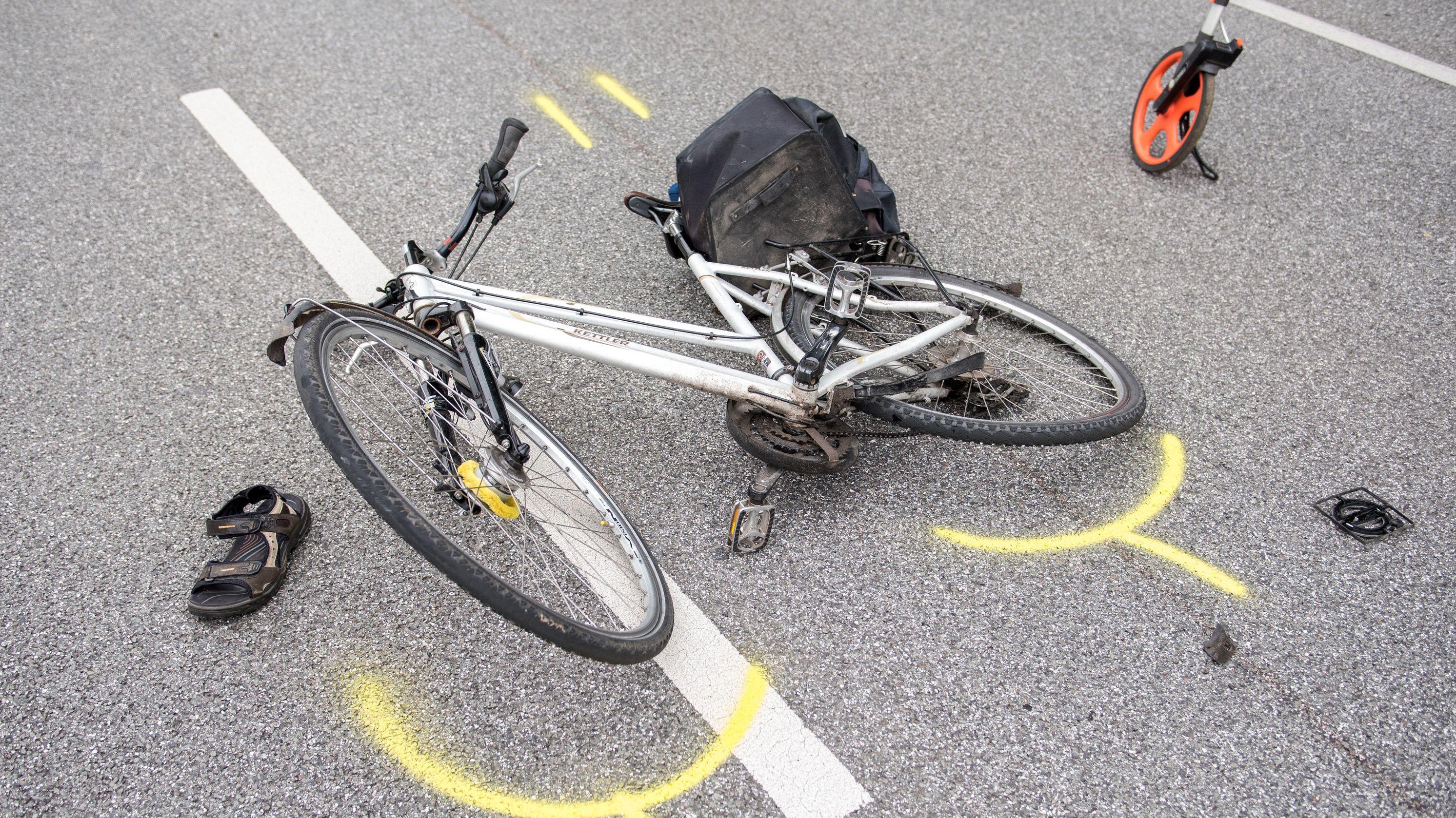 Immer mehr Fahrradfahrer verunglücken auf deutschen Straßen
