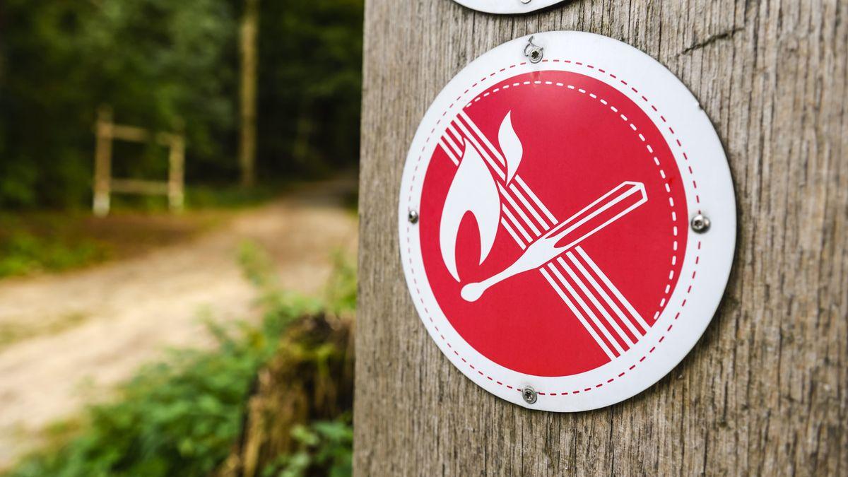 Warnung vor Waldbrandgefahr