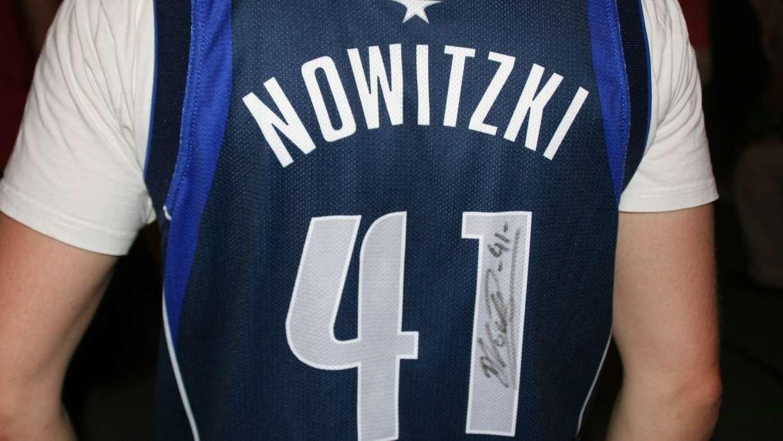 Nowitzki-Trikot