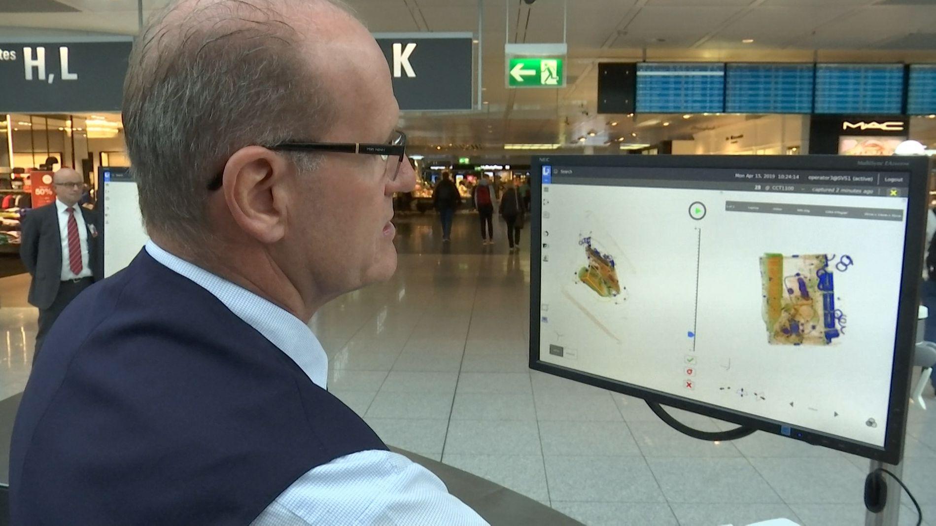 Neue Sicherheitskontrolle am Münchner Flughafen