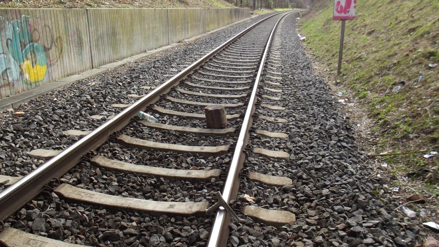 Gegegnstände im Gleisbereich