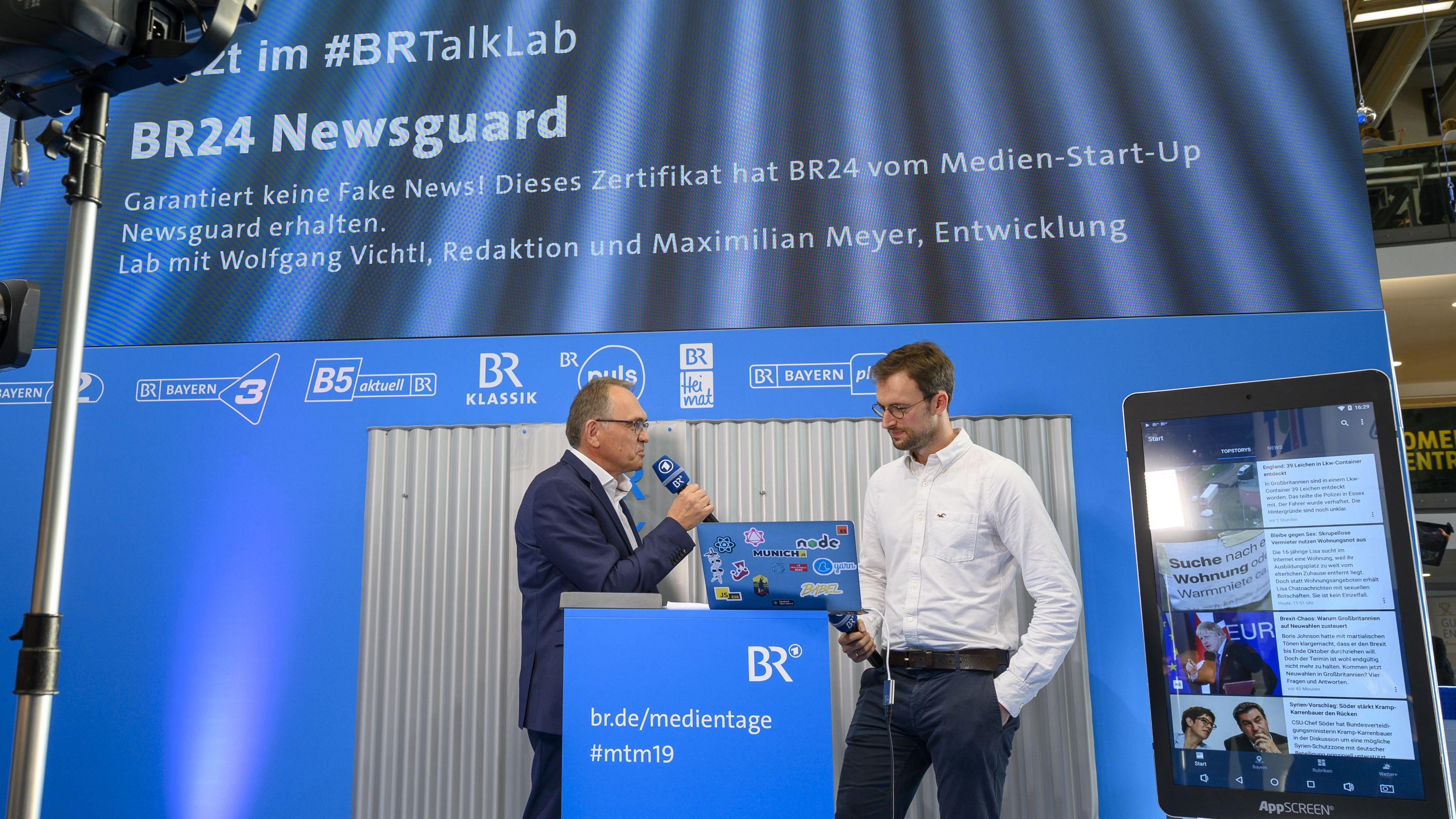BR24 Newsguard - Garantiert keine Fake News!