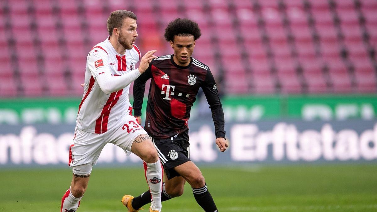 Spielszene 1. FC Köln - Bayern München