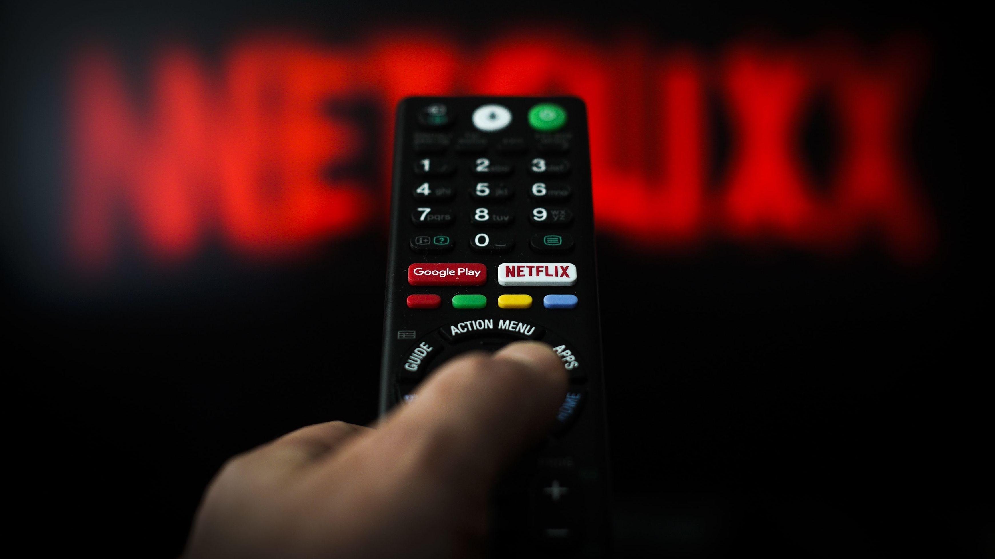 Fernbedienung mit Netflix-Button