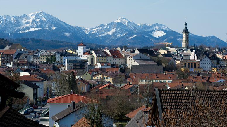 Stadtansicht von Traunstein | Bild:pa/dpa/Angelika Warmuth