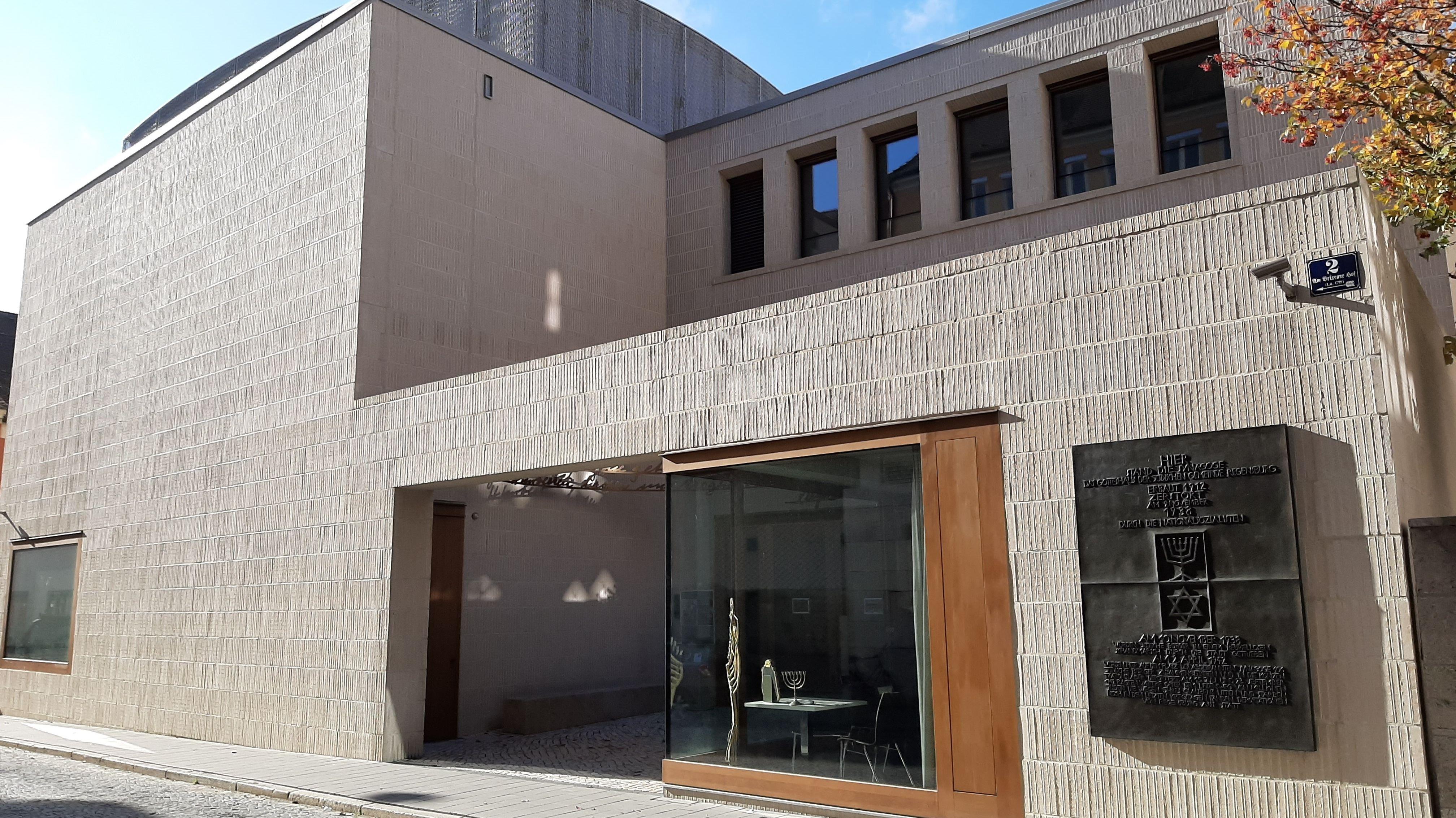 Die neue Regensburger Synagoge