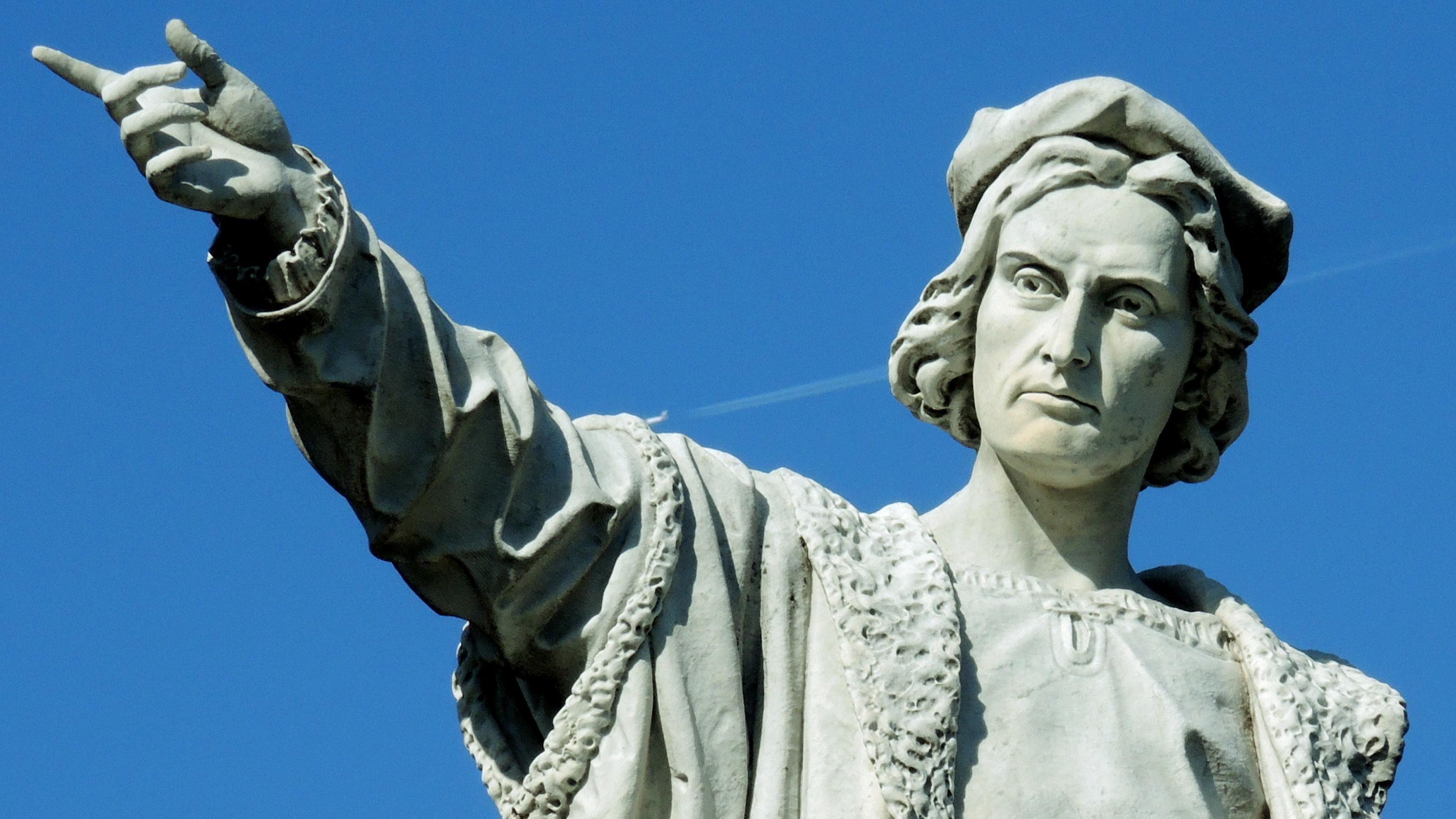 Christoph Kolumbus-Statue