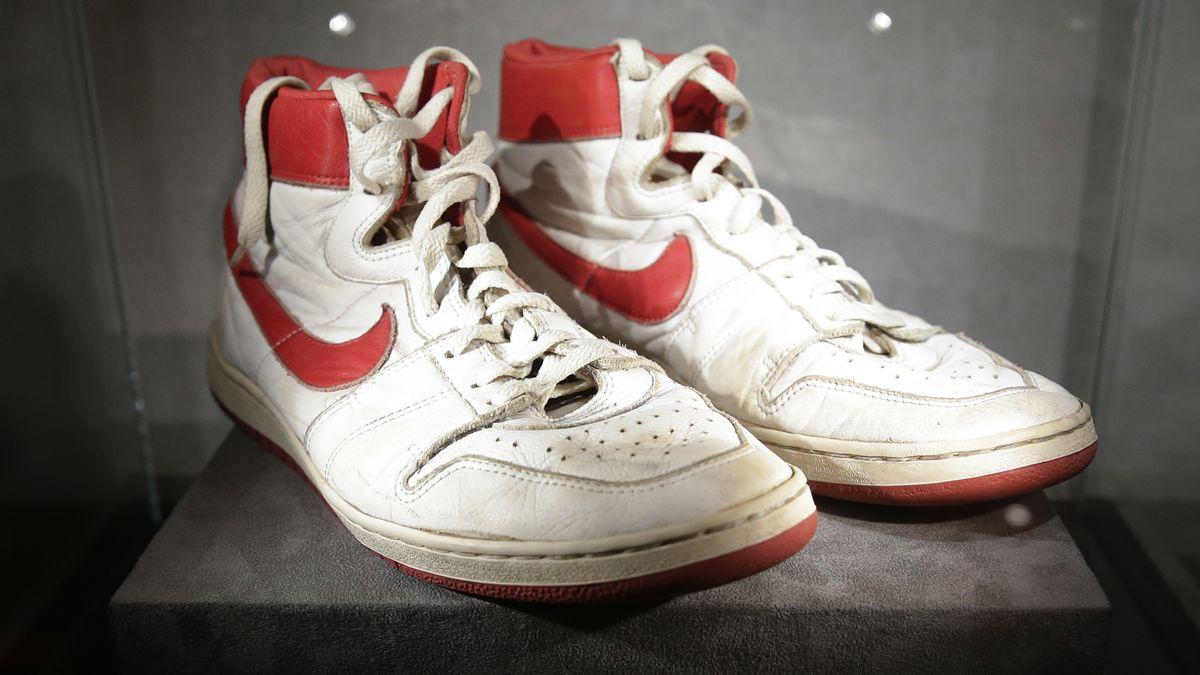 Schuhe von Michael Jordan