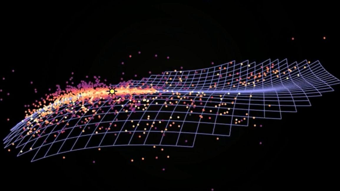 Durch die genaue Entfernungsbestimmung von rund 2.400 Cepheiden-Sternen ist es den Warschauer Astronomen gelungen, eine räumliche Anordnung der Milchstraße zu kartieren.