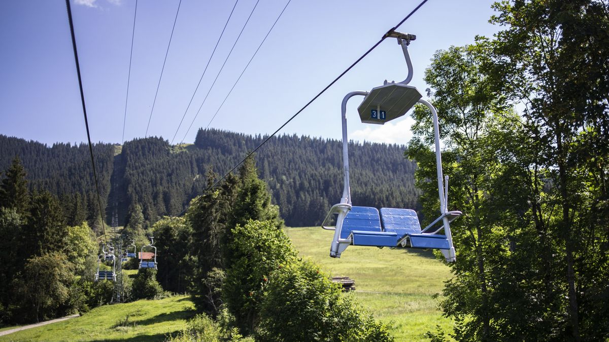 Die Hörnlebahn am Hörnle in den Ammergauer Alpen