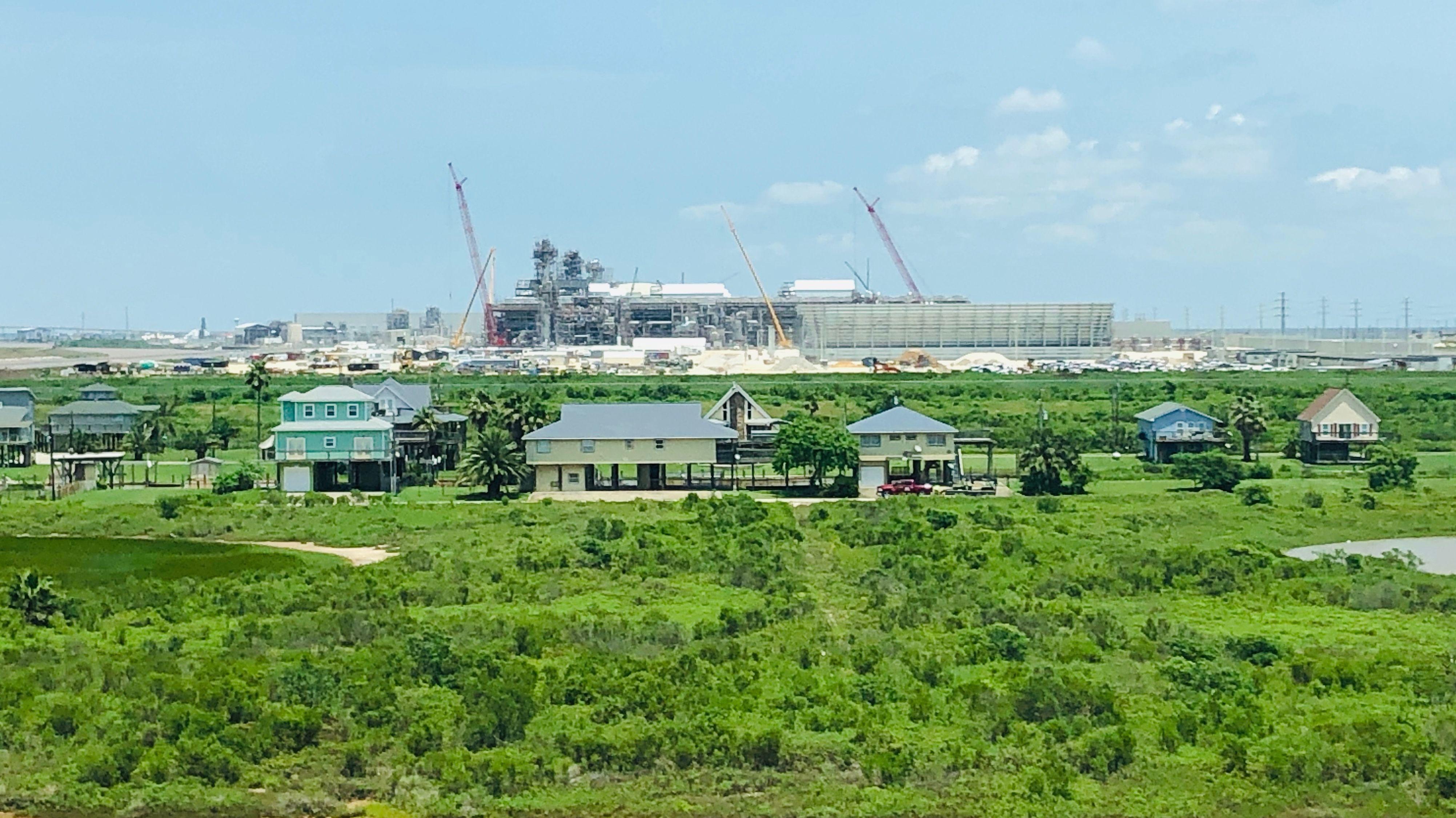 Das Freeport LNG Terminal am Golf von Mexiko