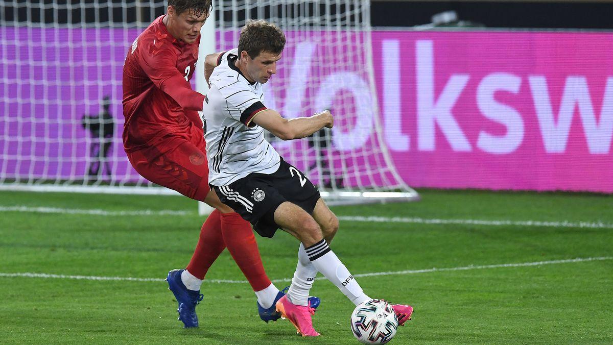 Thomas Müller gegen Dänemark