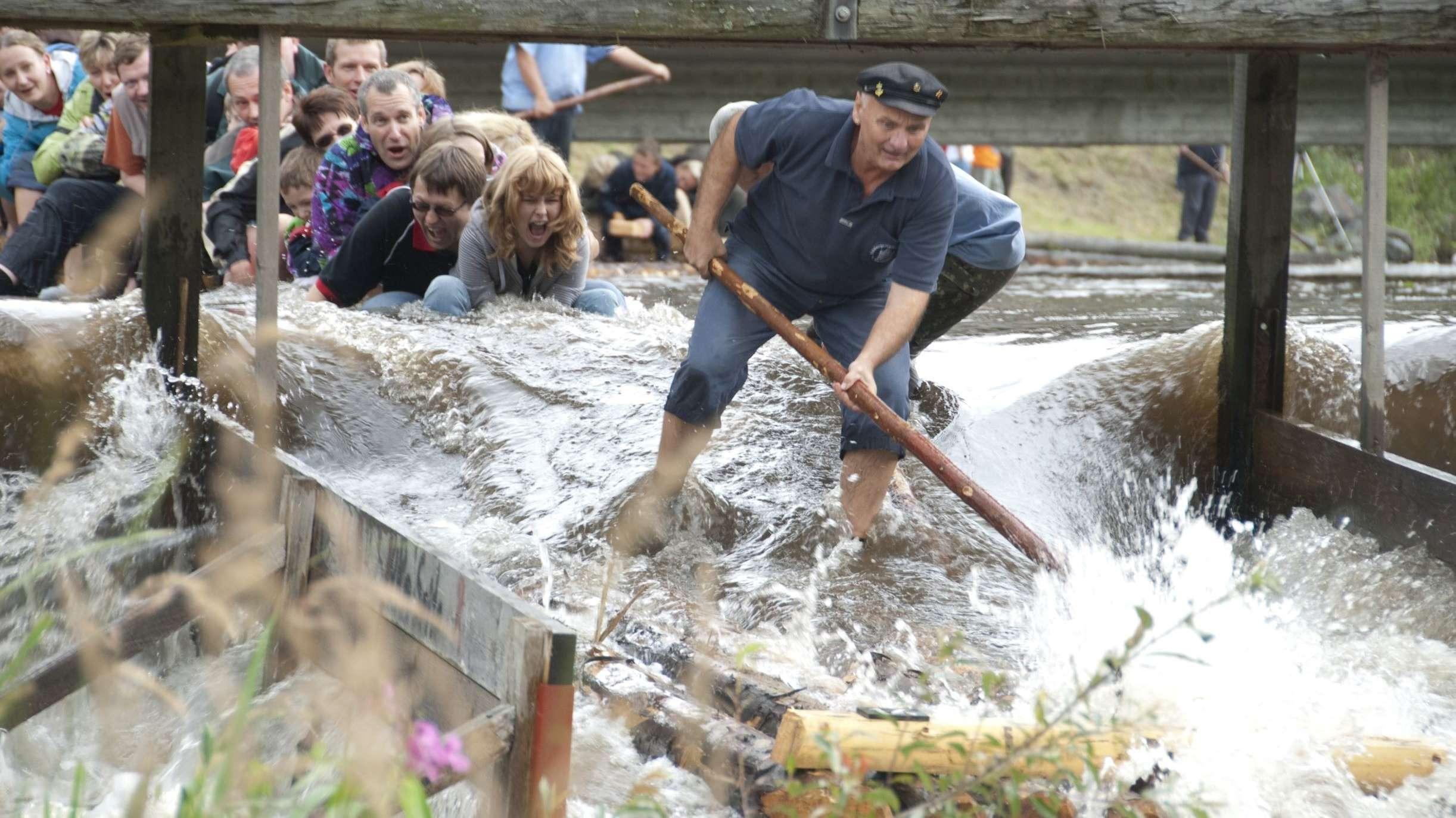 Die Flößersaison in Frankenwald beginnt am 25. Mai.