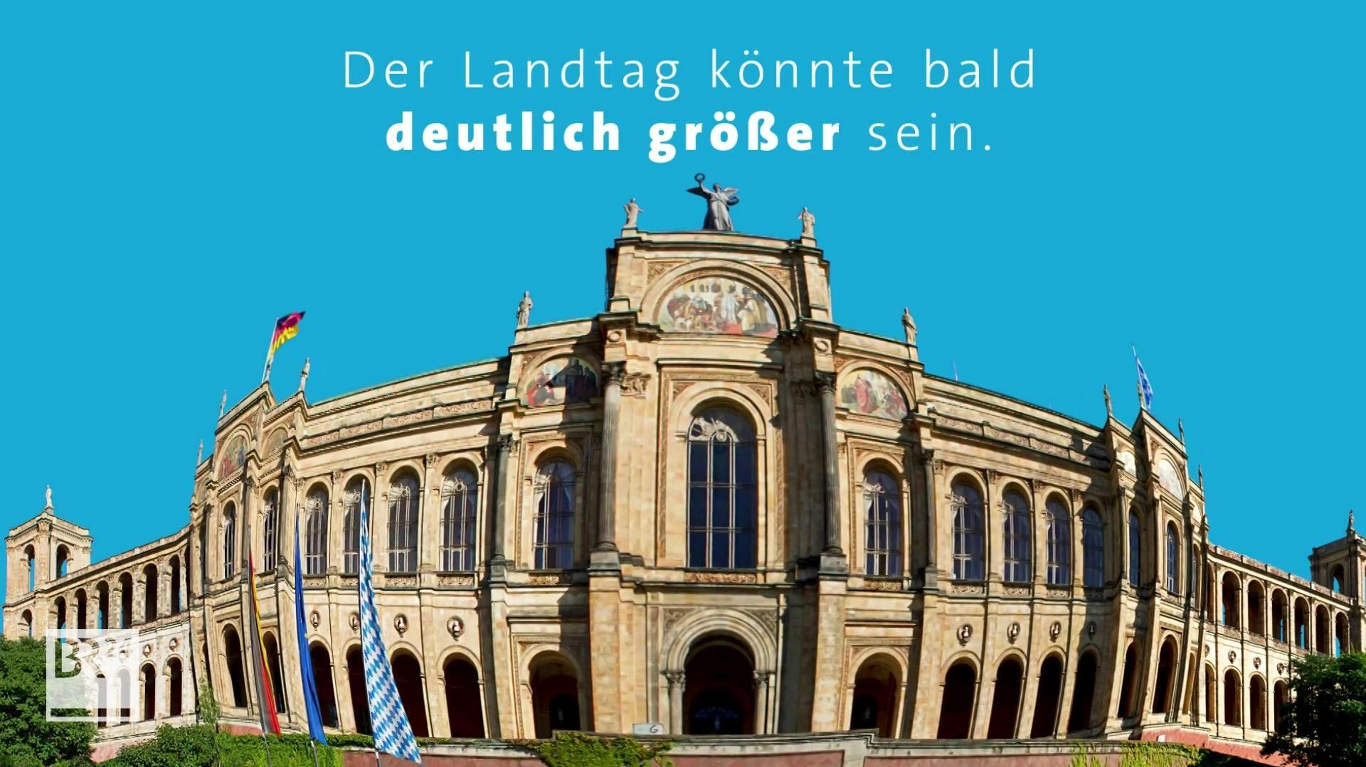 Überhang- und Ausgleichsmandate vergrößern den Landtag