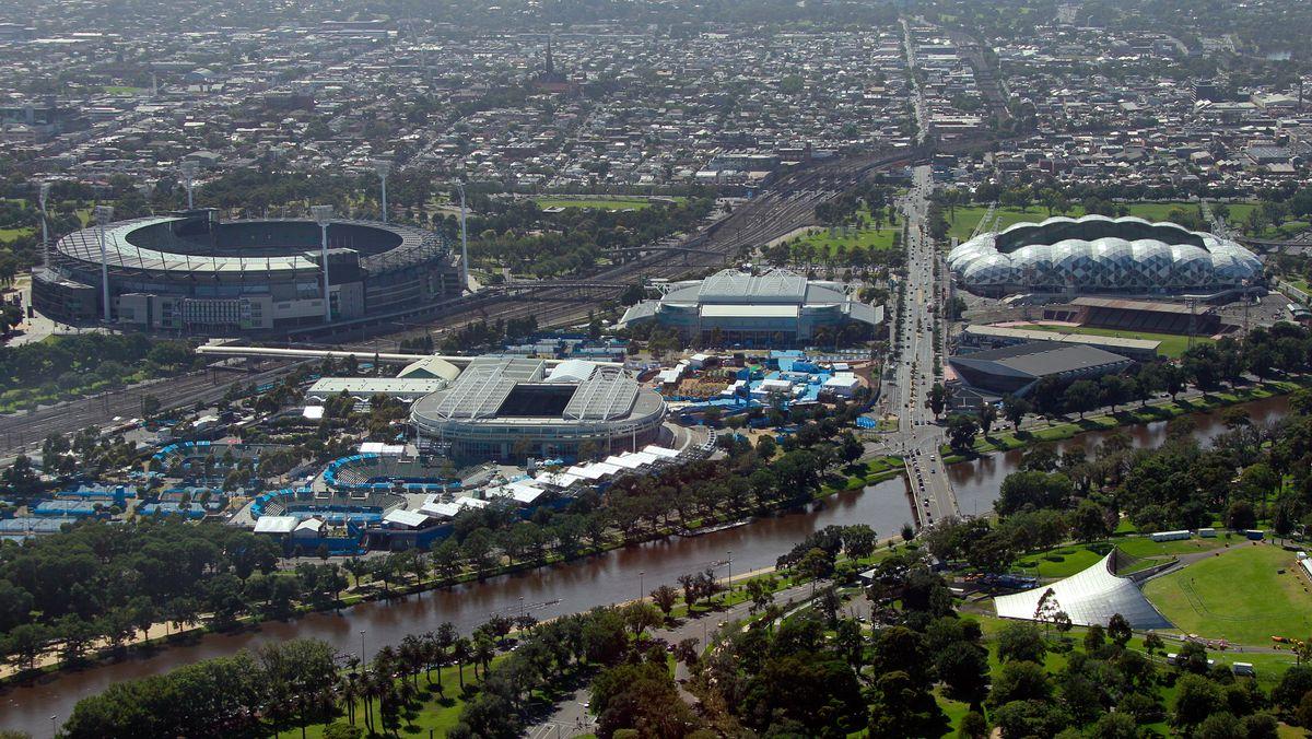 Melbourne Park: Austragungsort der Australian Open