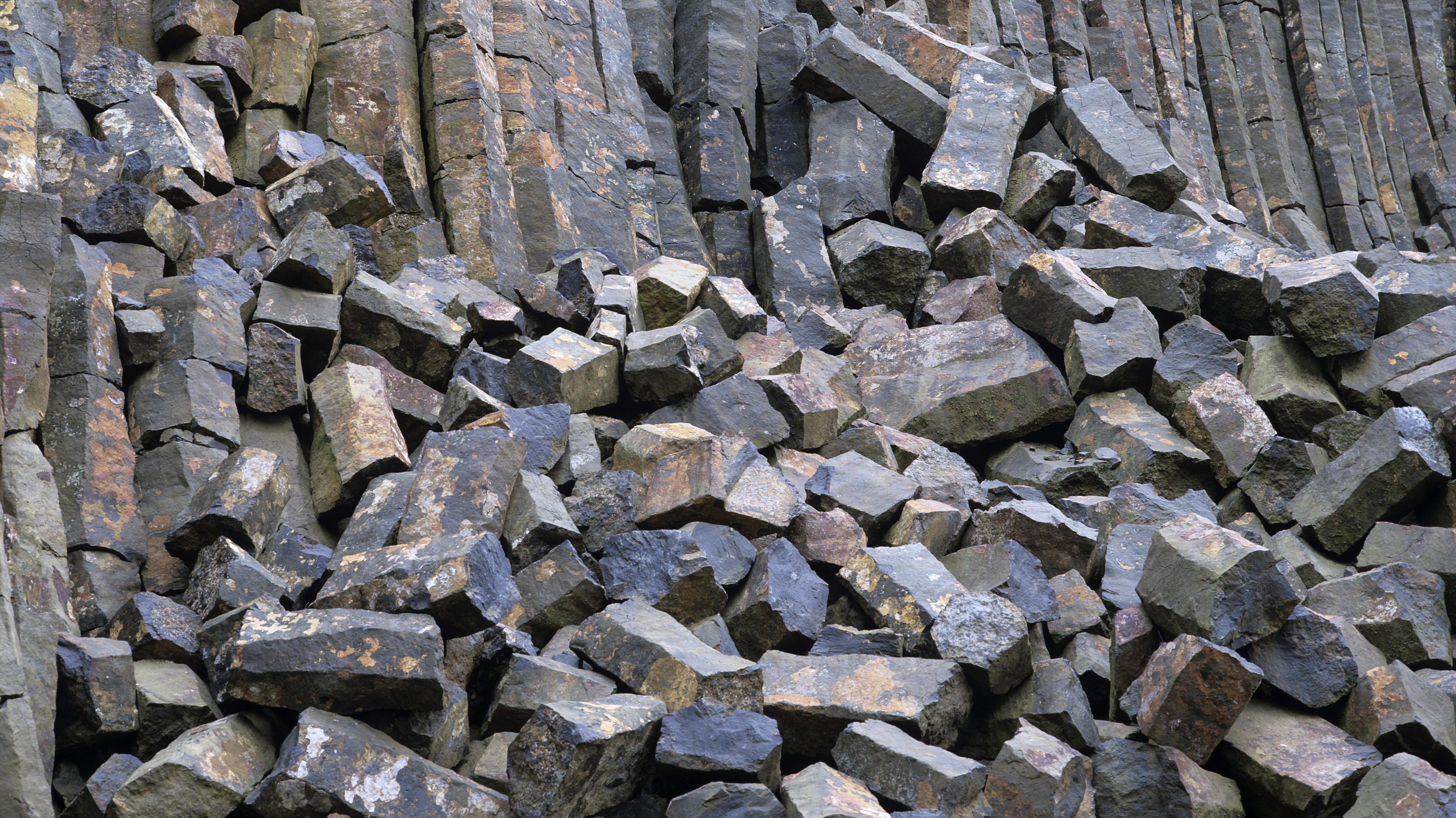 Basaltsteinbruch (Symbolbild)