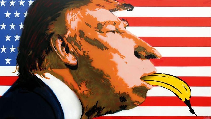 US-Präsident Donald Trump aus der Sicht von Thomas Baumgärtel