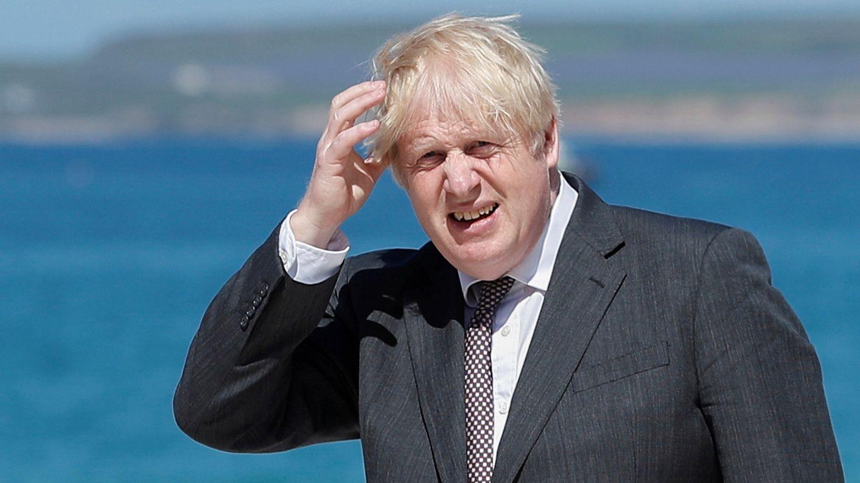 Boris Johnson am 12. Juni 2021.