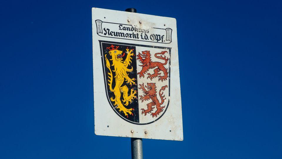 Wappen des Landkreises Neumarkt in der Oberpfalz