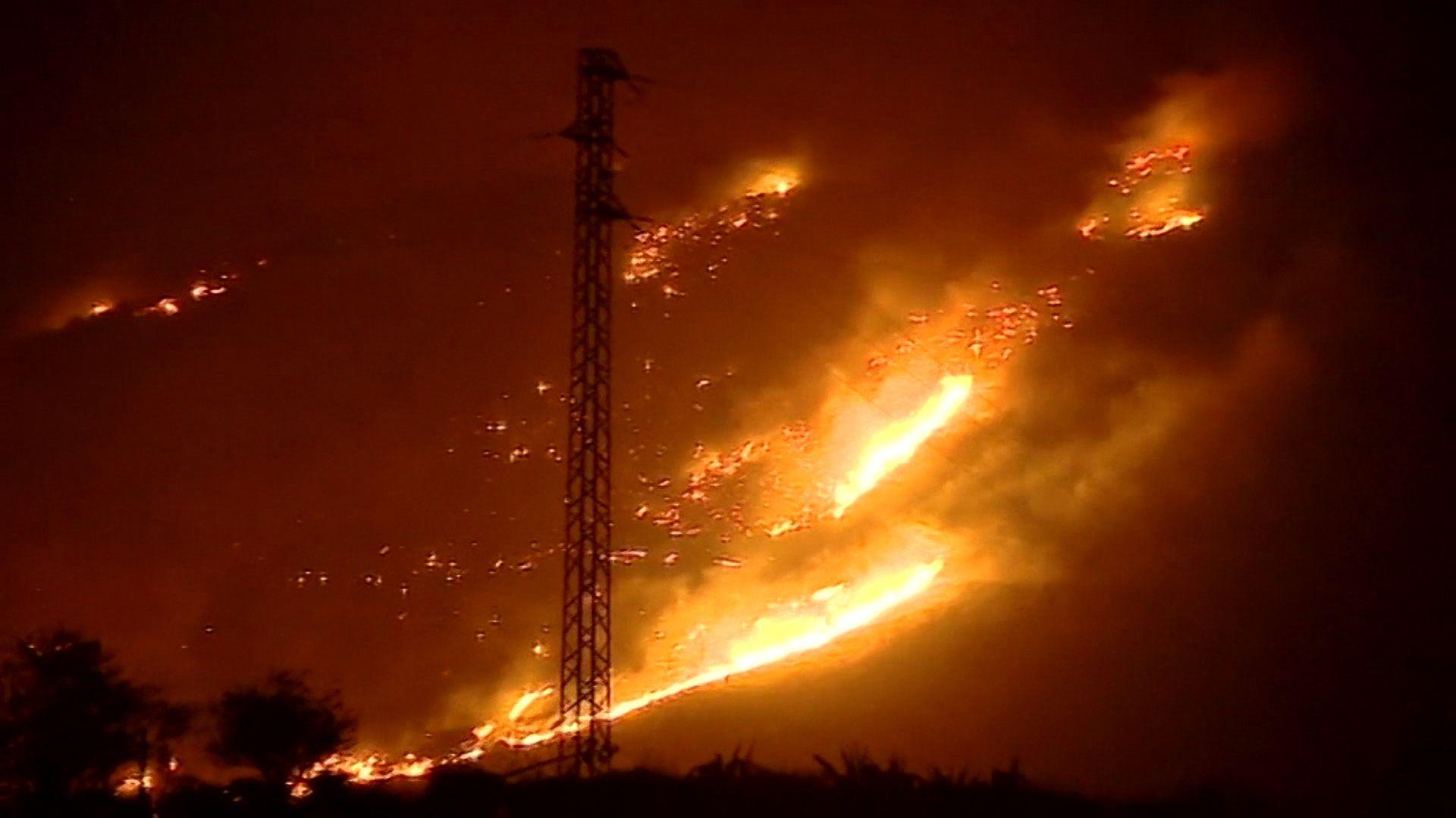 Waldbrand auf Gran Canaria