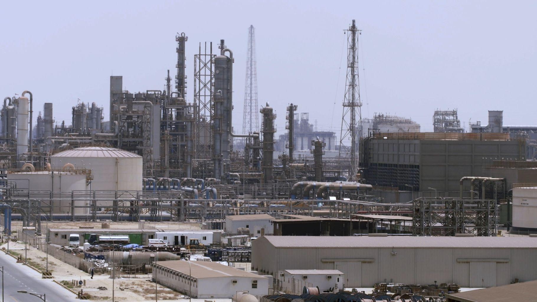 Ölraffinerie in Saudi-Arabien