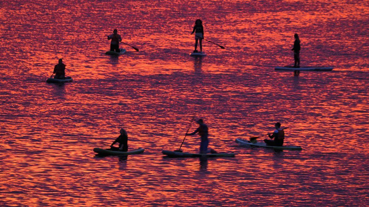 Viele Menschen zieht es im Sommer auf das Wasser.