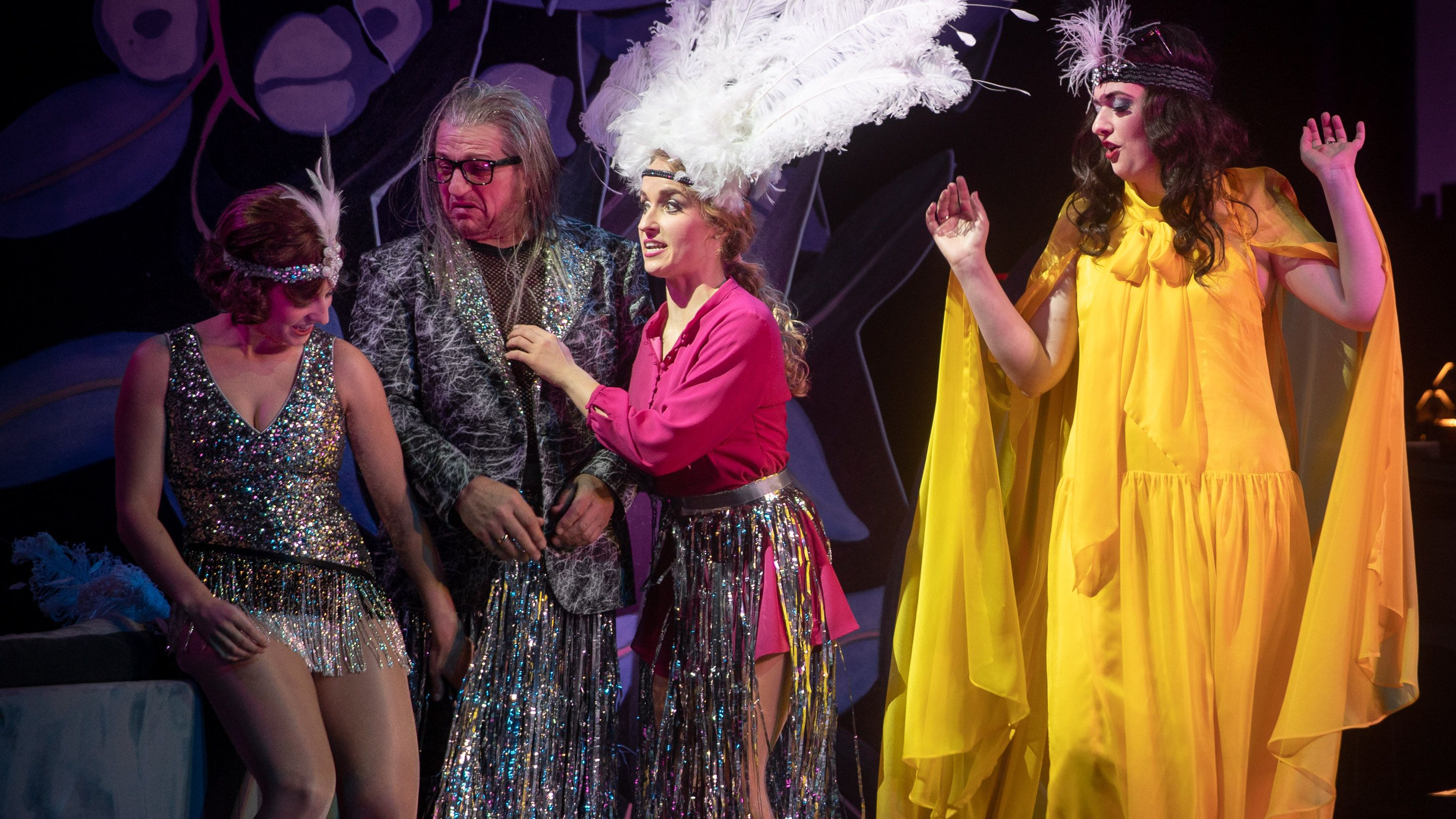 Trashige Revue in Coburg