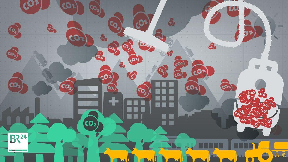 CO2-Entnahme: Dekarbonisierung - die CO2-Entnahme aus der Atmosphäre, auch negative Emissionen genannt - klingt vielversprechend und wird im Kampf gegen den Klimawandel nötig sein. Doch es ist ein teurer Weg, Treibhausgase wieder loszuwerden.
