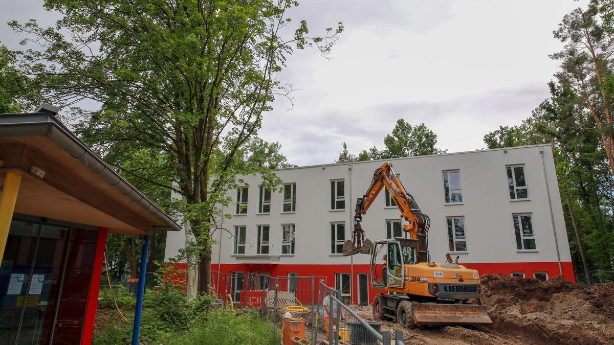 Bau einer neuen Reha für psychisch erkrankte Jugendliche im Nürnberger Nordostpark.