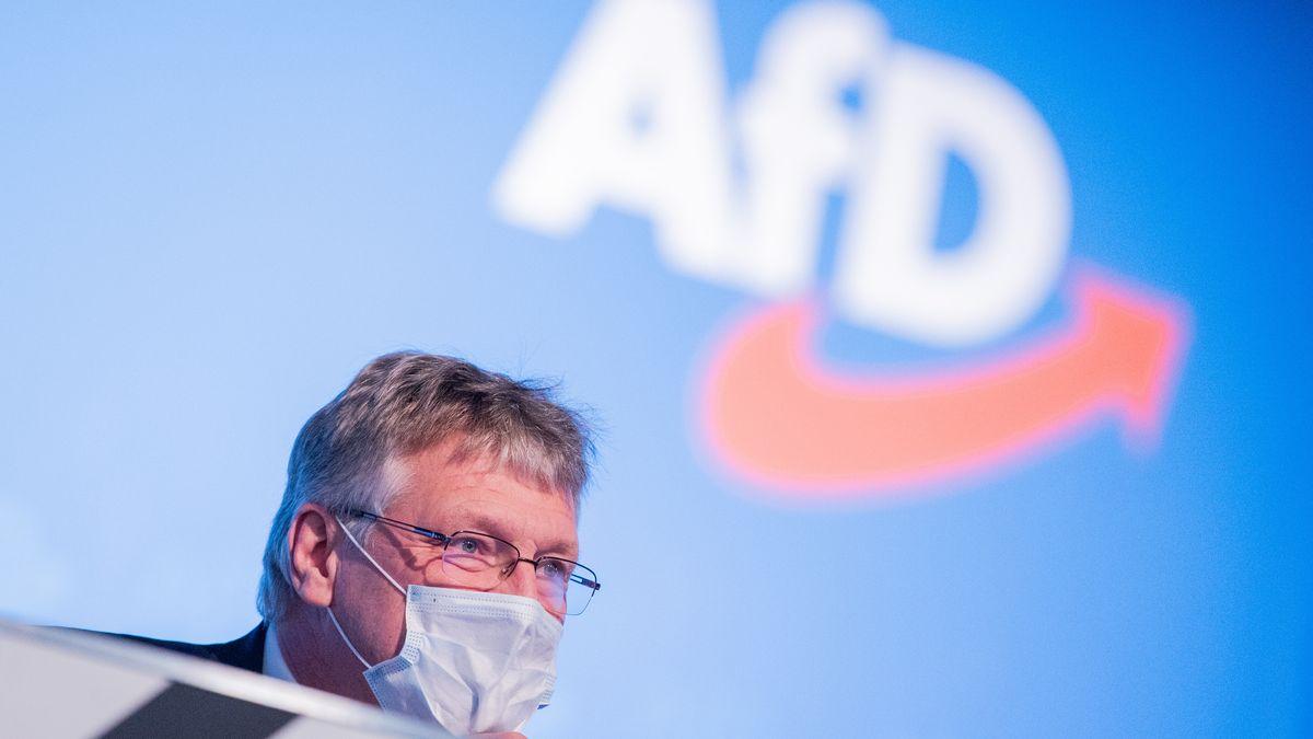 Jörg Meuthen, Bundessprecher, beim Bundesparteitag der AfD