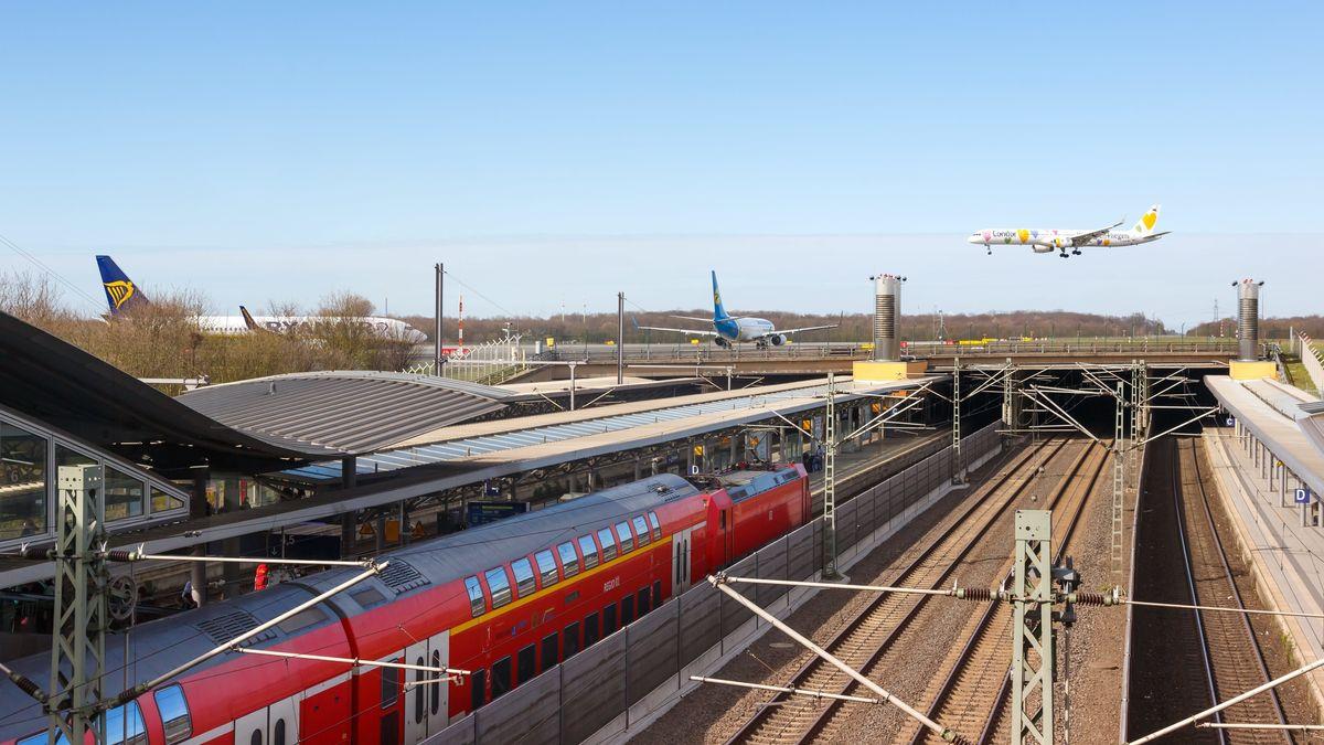Bahnhof Flughafen Düsseldorf