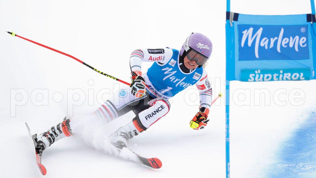 Ski alpin: Französin Worley gewinnt Riesenslalom am Kronplatz