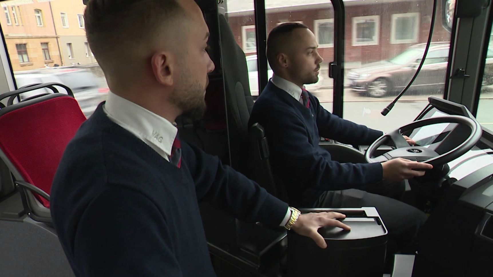 Busfahrer der VAG