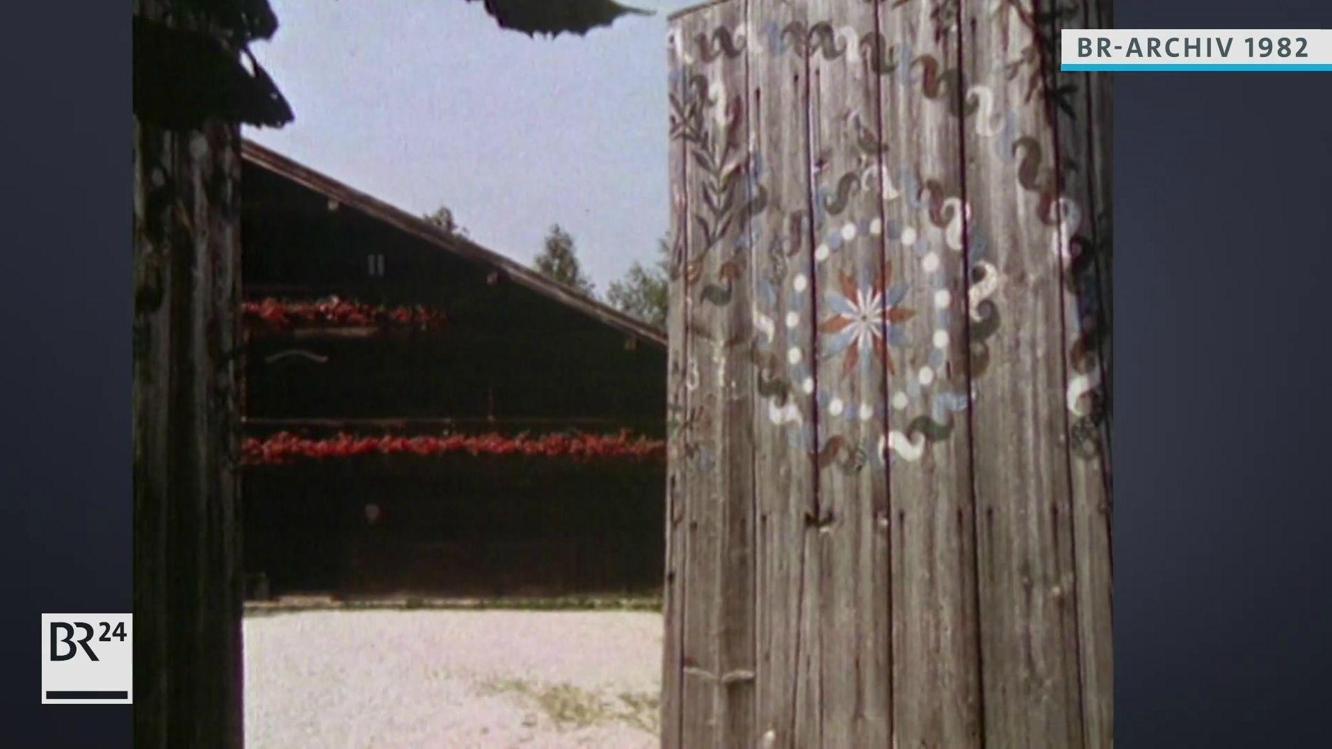 Blick auf den Schusteröderhof