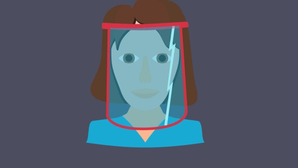 Hinter Gesichtsvisieren atmet es sich leichter. Doch sie helfen nicht genauso wie ein obligatorischer Mund-Nasen-Schutz.
