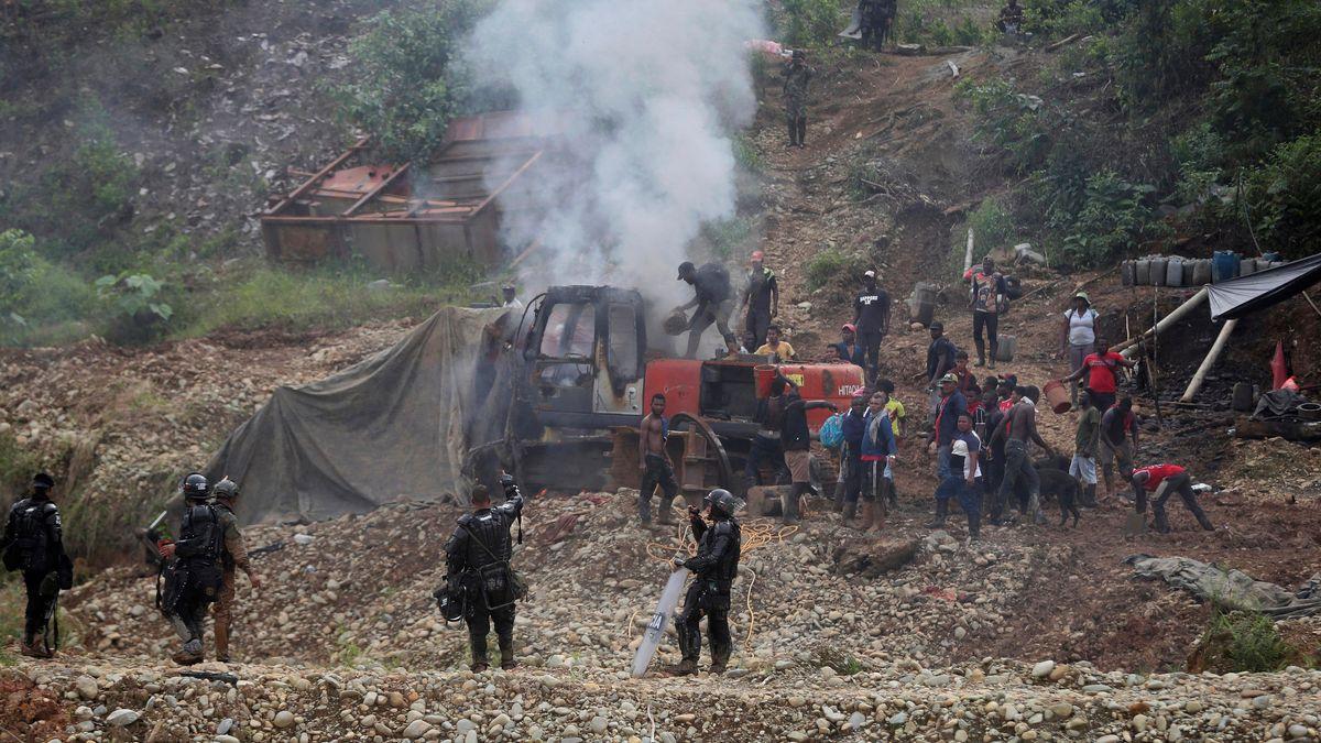 Bergbau in Kolumbien