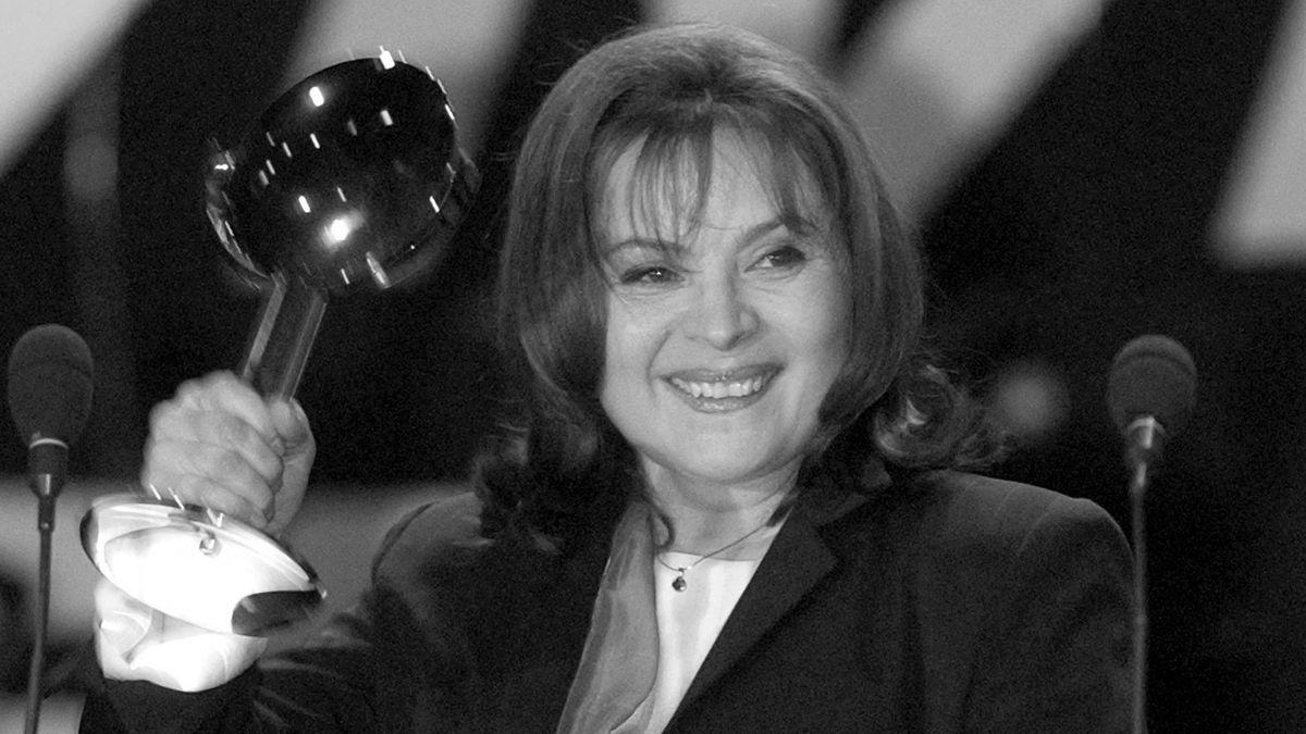 Porträt der Schauspielerin beim Tschechischen Fernsehpreis 2004