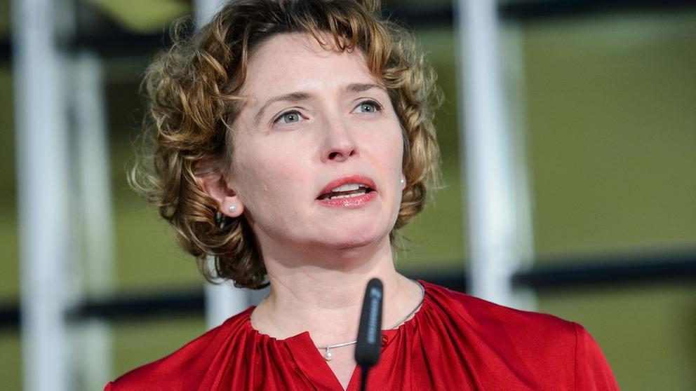 Nicola Beer, FDP   Bild:picture-alliance/dpa