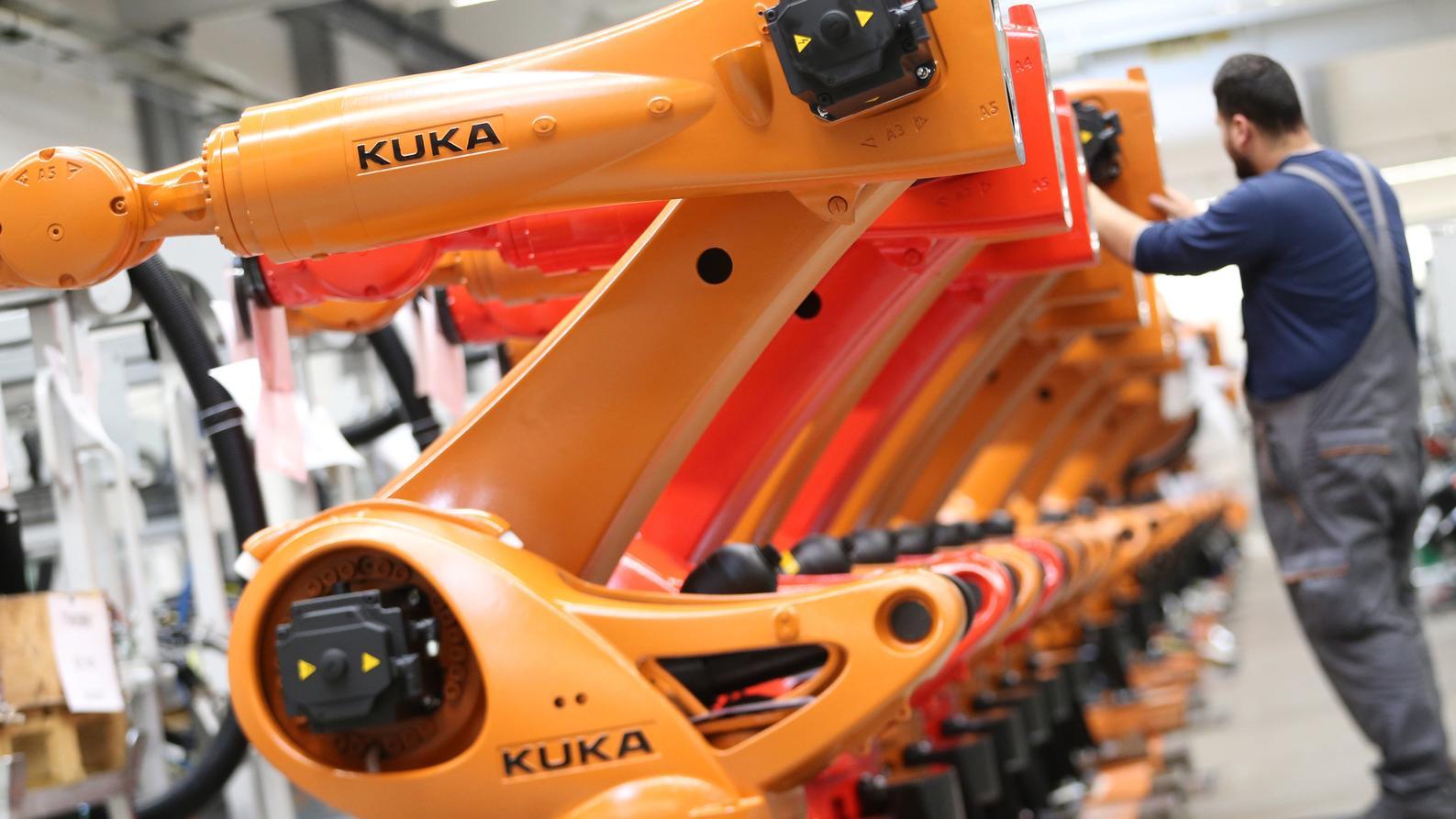 Roboter des Augsburger Herstellers Kuka