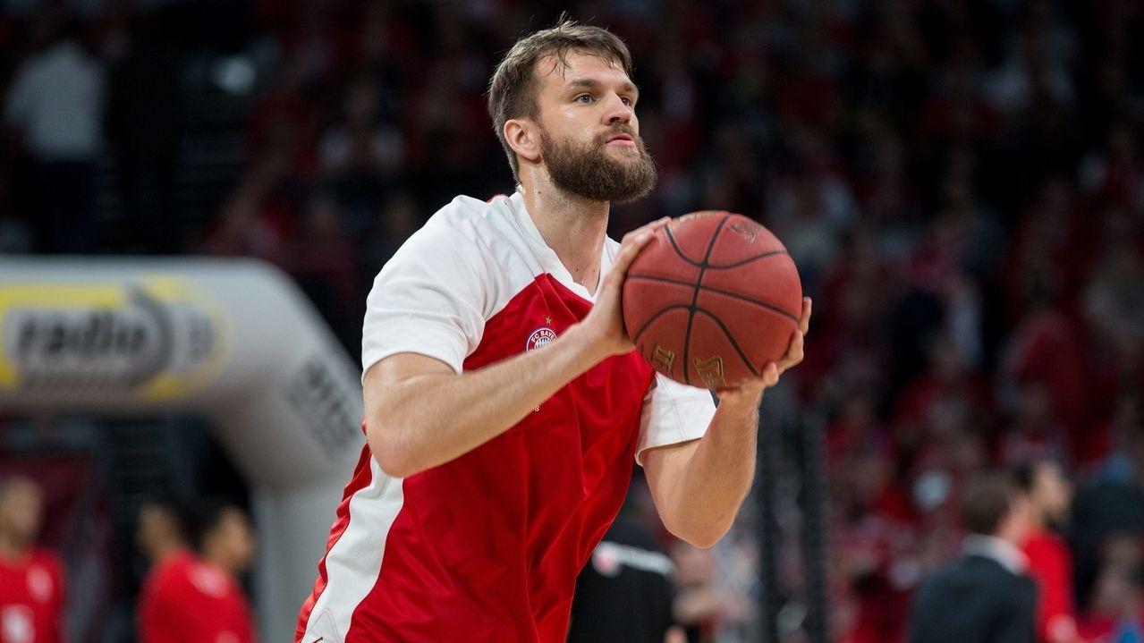 Danilo Barthel von FC Bayern Basketball