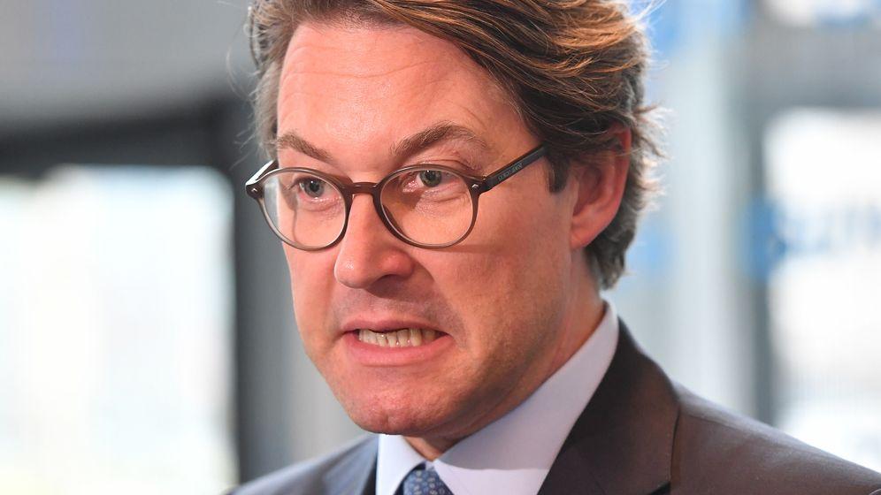 Andreas Scheuer, CSU    Bild:dpa/pa/Sven Simon