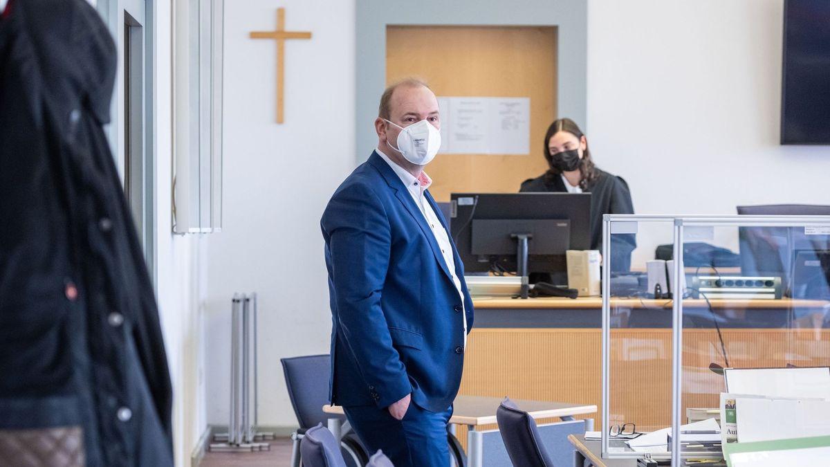 Christian Schlegl im Gerichtssaal