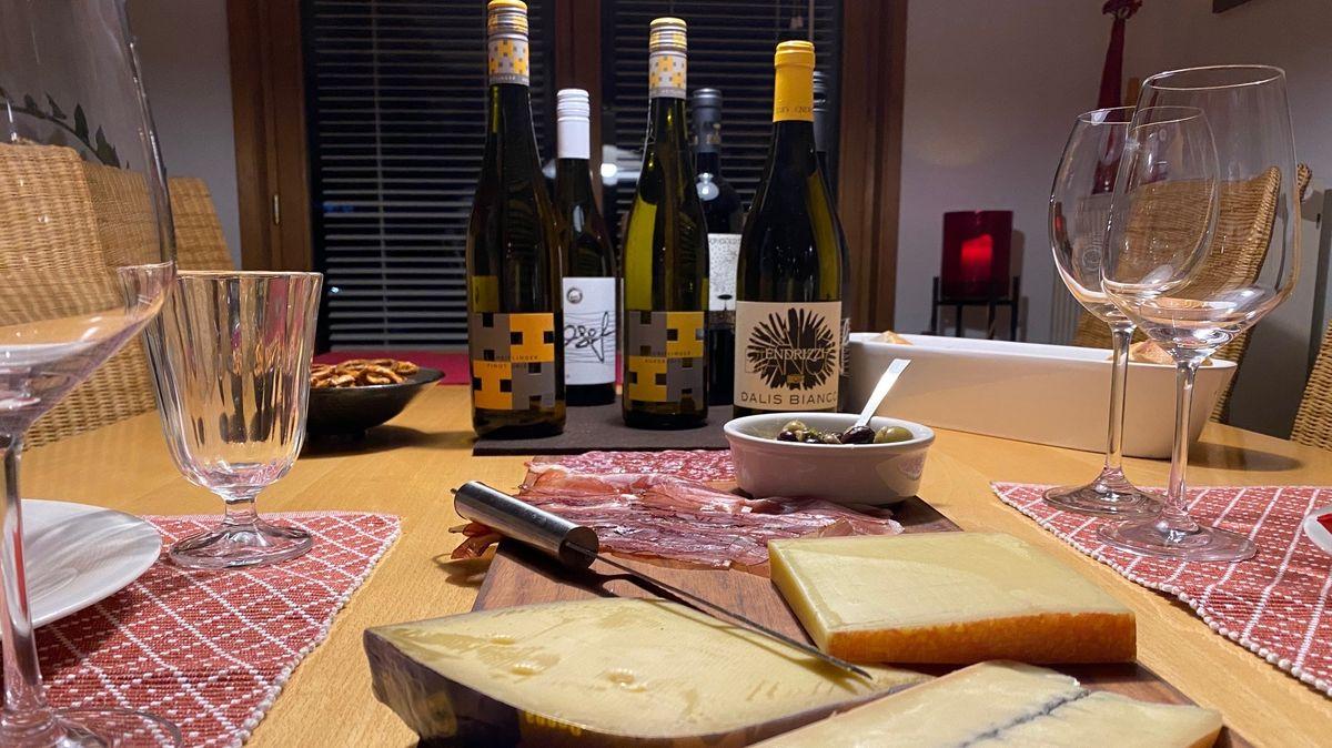 Die virtuelle Weinprobe gibt es ab 72 Euro.