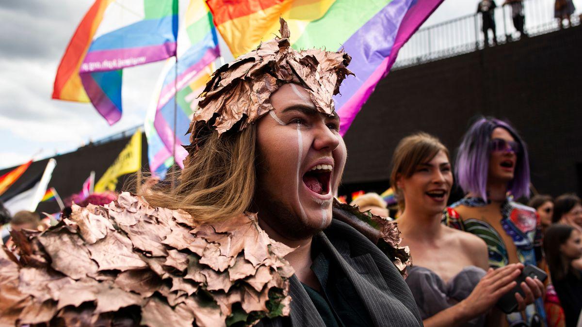 LGBT-Marsch in Polen (Archivbild)