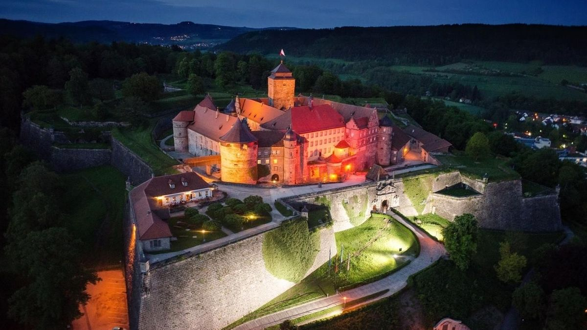 Die Festung Rosenberg in Kronach