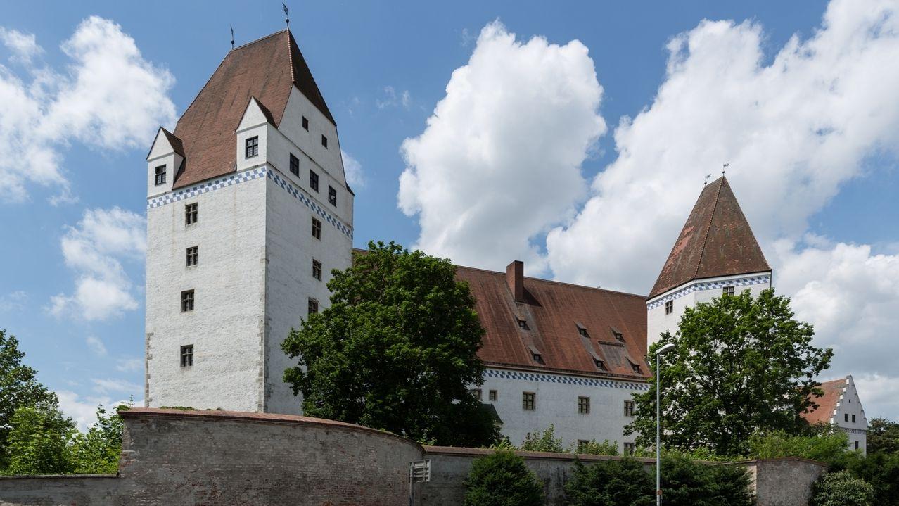Das Neue Schloss in Ingolstadt