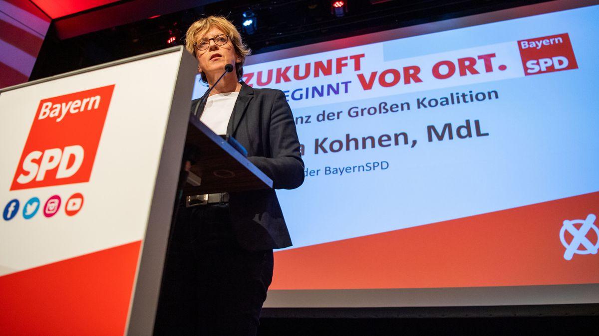 Archivbild: Die bayerische SPD-Landeschefin Natascha Kohnen