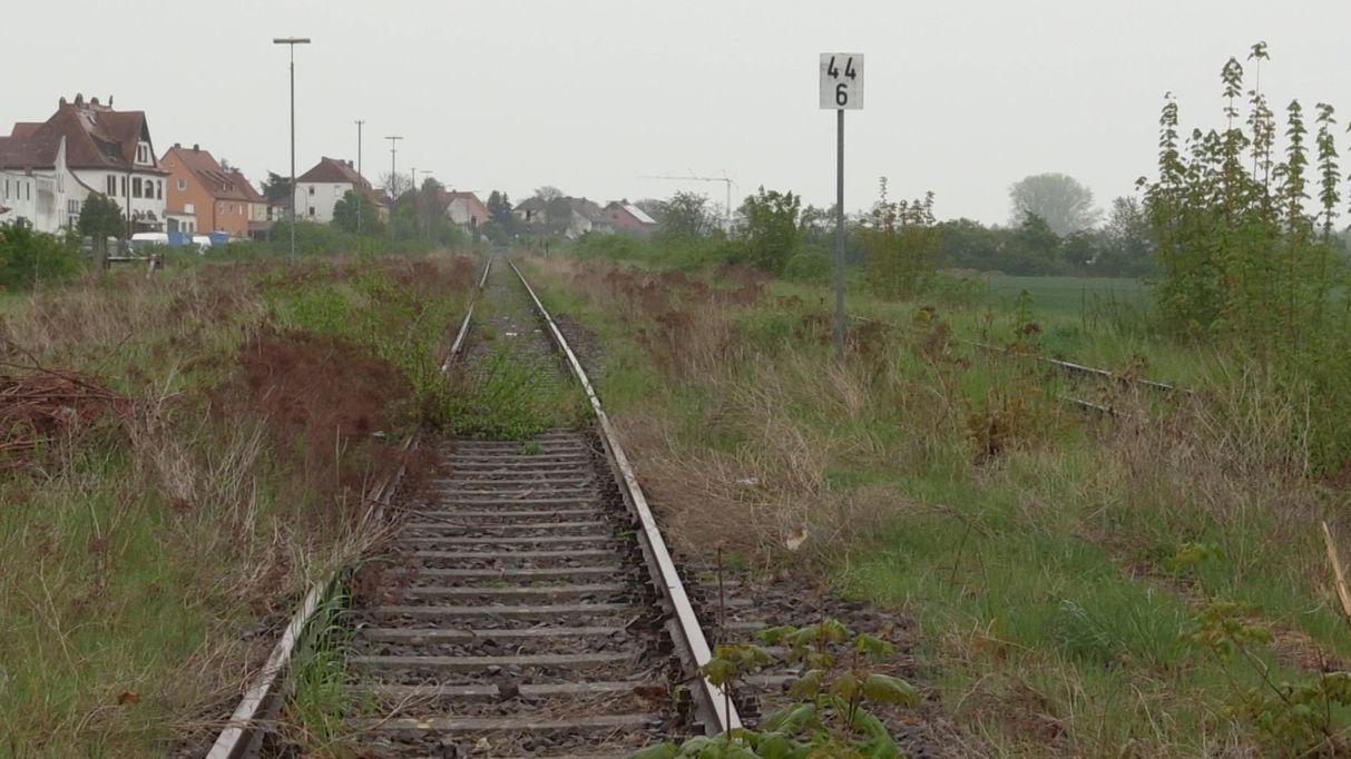 Grüne kämpfen für Steigerwaldbahn
