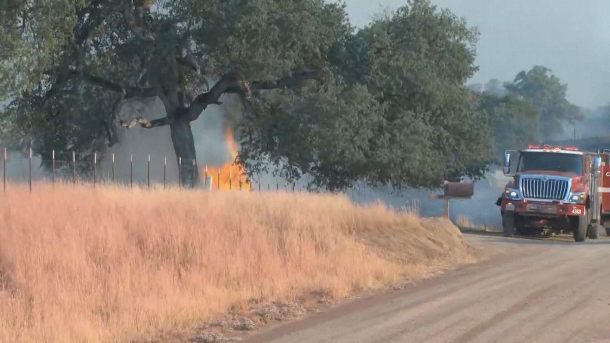 Brände in den USA bedrohen Nationalpark und Stromversorgung