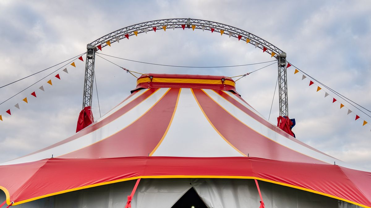 Das Dach des Zirkus Corona (Symbolbild)